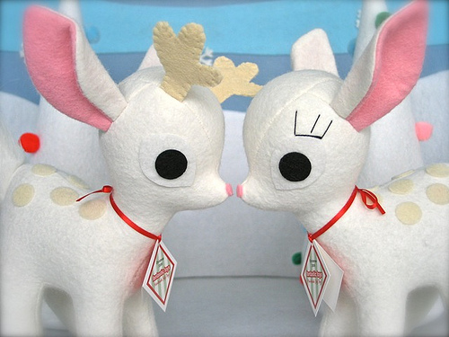 Fantastic toys_deer pair