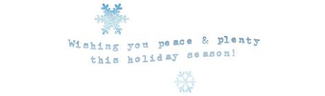 Peace&plenty
