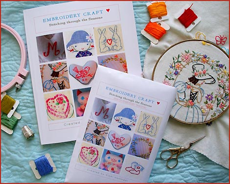 turkey feathers: Embroidery Craft: Stitching through the Seasons