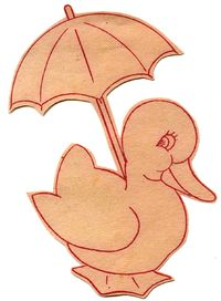 Umbrella-duck