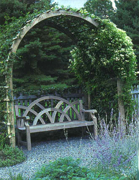 Wonderful And Then You Have The Free Standing Bench Under The Arbor Idea. Perhaps  Made A Bit More Comfy With The Addition Of A Soft Cushion Or Two.