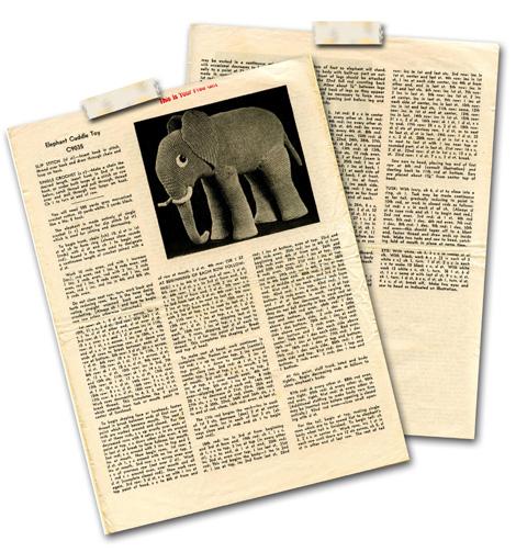 ElephantCrochetPattern1