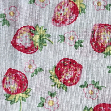 Strawberry-fabric