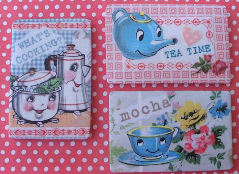 Retro_kitchen_magnets_decoupage_art_mocha-teatime-cooking-vh2021