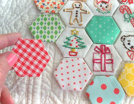 Christmas_embroidery_honeycomb